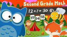 123 Animal Second Grade Math Games for Kids for Ouya