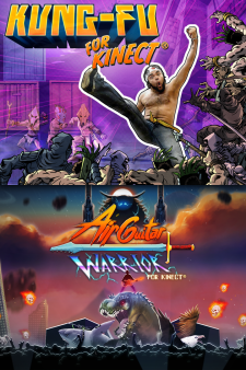 Kinect Bundle: Kung-Fu & Air Guitar Warrior for