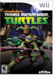 Teenage Mutant Ninja Turtles for Wii