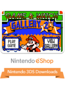 Game & Watch Gallery 2 for 3DS