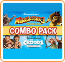 Madagascar 3 & The Croods Prehistoric Party Combo Pack for 3DS