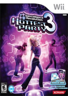 Dance Dance Revolution Hottest Party 3 for Wii