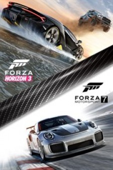 Forza Motorsport 7 and Forza Horizon 3 Bundle for XBox One