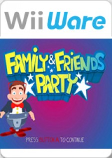 Family & Friends Party for Wii