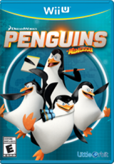 Penguins of Madagascar for WiiU