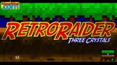 RetroRaider - Three Crystals for Ouya