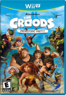 The Croods: Prehistoric Party! for WiiU