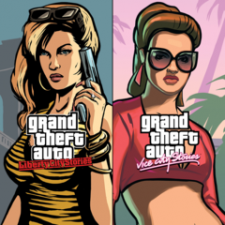 Grand Theft Auto Double Pack: LCS & VCS for PS3