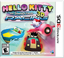 Hello Kitty and Sanrio Friends 3D Racing for 3DS