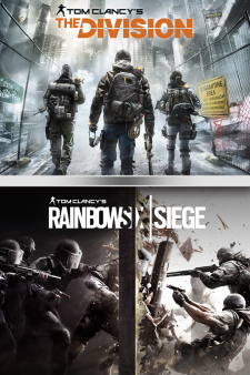 TOM CLANCY'S RAINBOW SIX SIEGE + THE DIVISION BUNDLE for XBox One