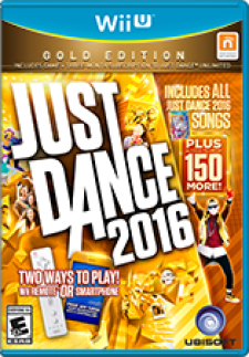 Just Dance 2016 Gold Edition for WiiU