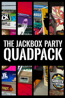 The Jackbox Party Quadpack for