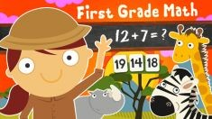 123 Animal First Grade Math Games for Kids for Ouya