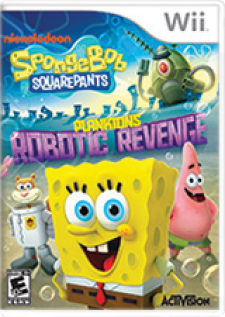 SpongeBob SquarePants: Plankton's Robotic Revenge for Wii