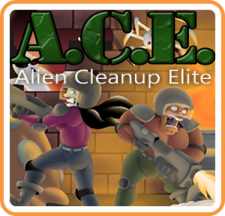 ACE - Alien Cleanup Elite for WiiU