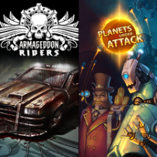 Armageddon Riders + Planets Under Attack Bundle for PS3
