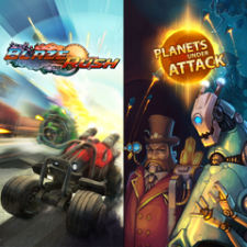 BlazeRush + Planets under Attack Bundle for PS3