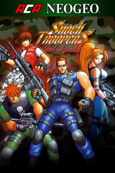 ACA NEOGEO SHOCK TROOPERS 2nd Squad for XBox One