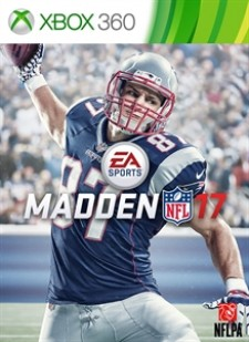 Madden NFL 17 for XBox 360