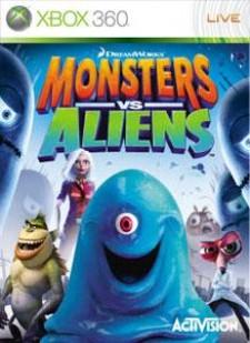 Monsters vs. Aliens for XBox 360