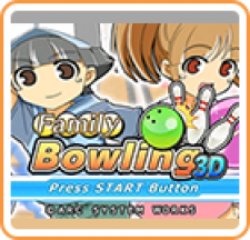 Family Bowling 3D for 3DS