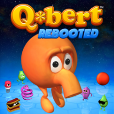 A Q*bert: Rebooted Game and Pixels Theme Bundle for PS3